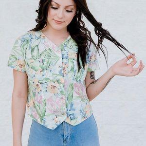 Vintage Liz Claiborne   Lizwear Petite 🌸 Floral